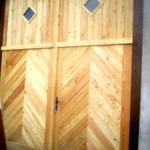 rénovation porte garage ancienne à Sarrebourg
